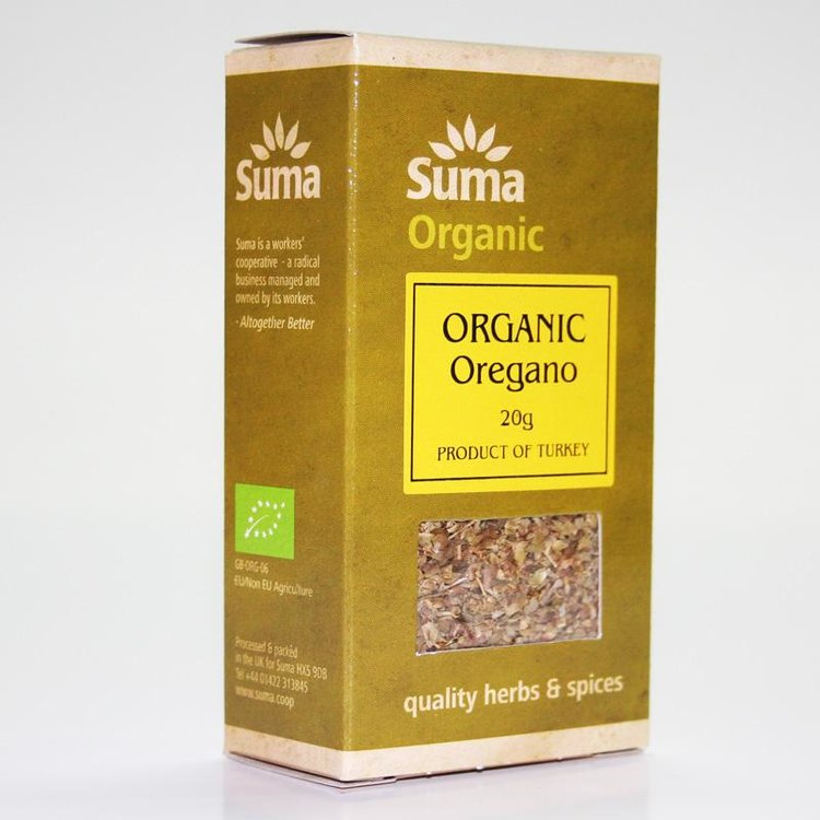 Organic Oregano 20g
