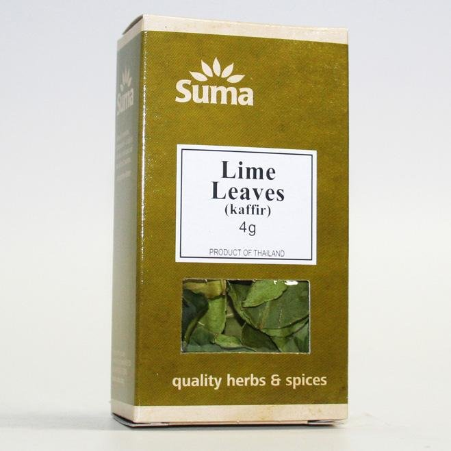 Whole Lime Leaves 4g
