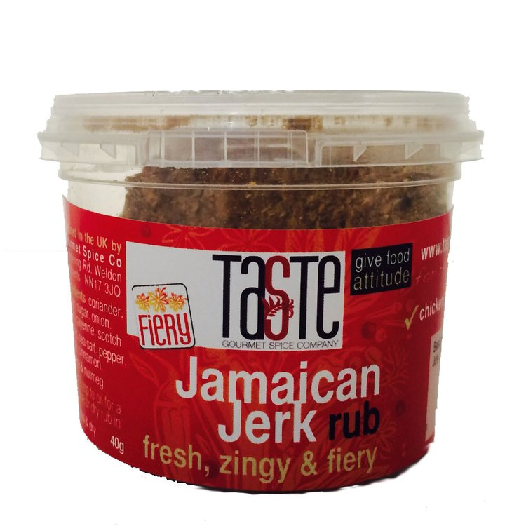 Fiery Jamaican Jerk Rub 40g