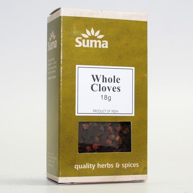 Whole Cloves 18g