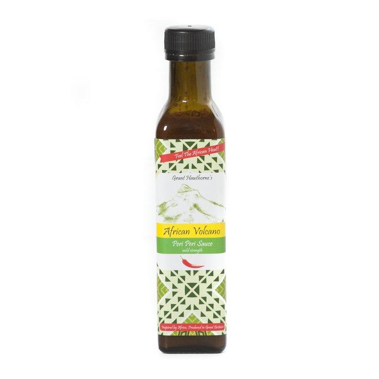 Handmade Mild Peri Peri African Sauce 240ml (For BBQ, Burgers)