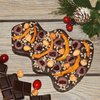 Honey Chocolate Christmas Tree by HoneyCacao 170g - No Added Sugar Chocolate