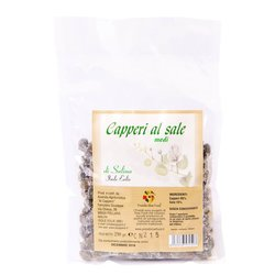 Capers in Sea Salt from Salina Island 250g
