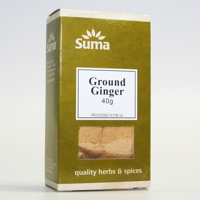 Ground Ginger 40g