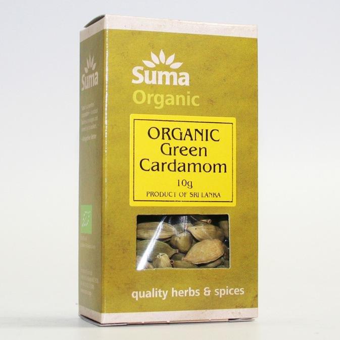 Organic Green Cardamom Pods 10g