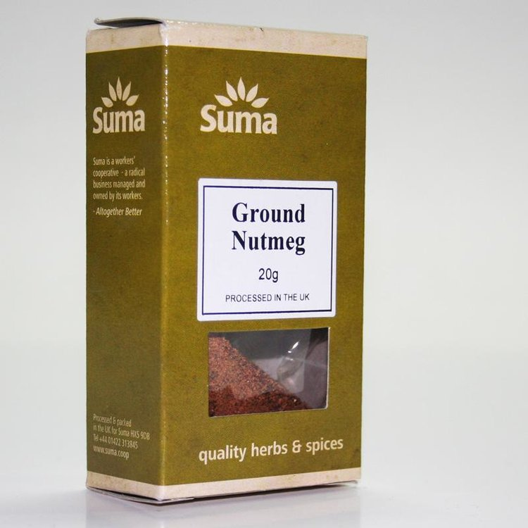 Ground Nutmeg 20g