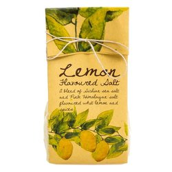 Lemon Flavoured Gourmet Salt (With Sicilian Sea Salt & Pink Himalayan Salt) 200g