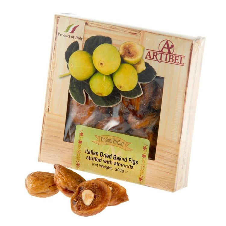 Dried Baked Figs Stuffed with Almonds 200g