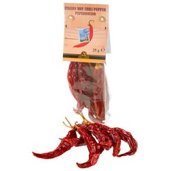 Calabrian Whole Dried Chilli Peppers 25g