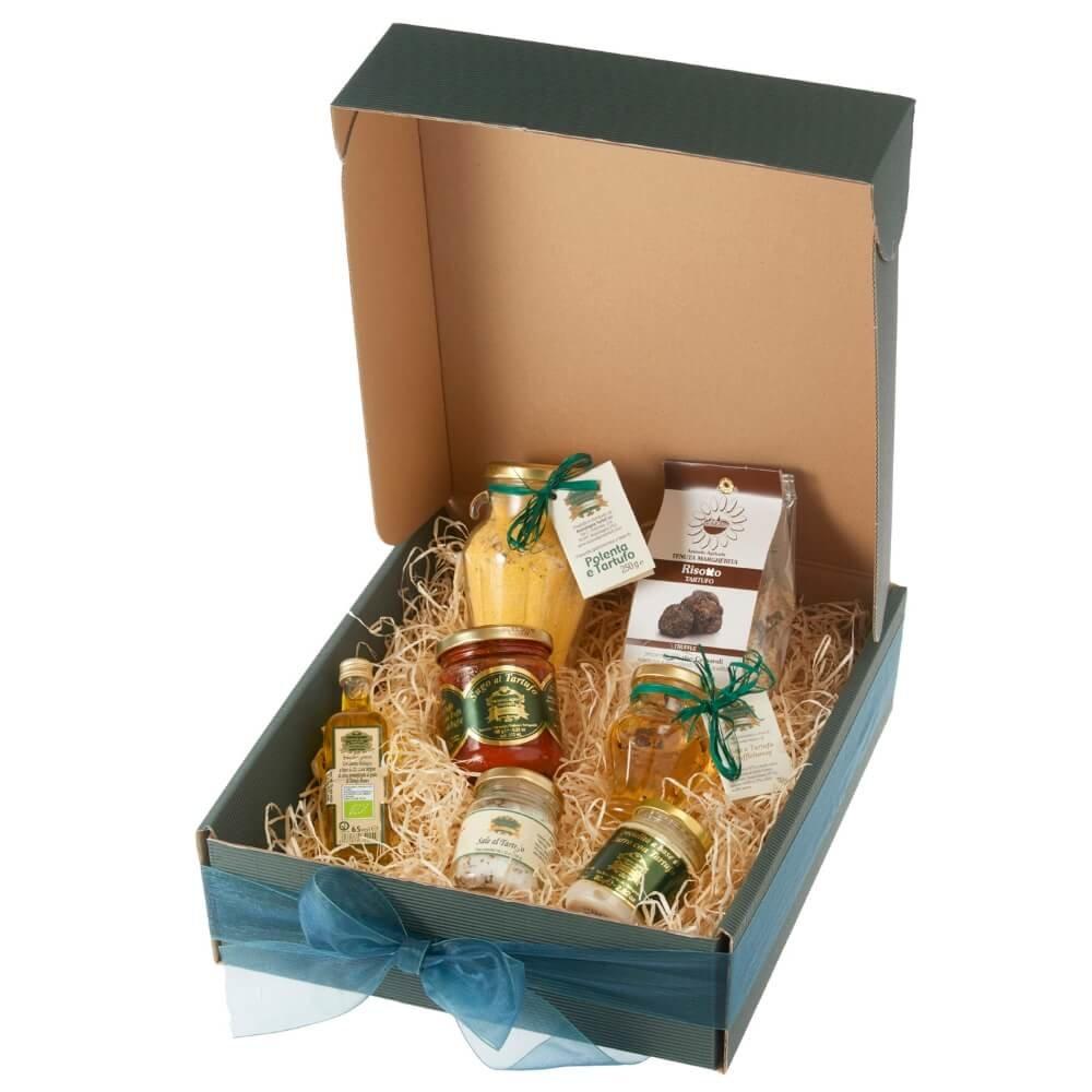 Truffle Lovers' Gourmet Gift Hamper Inc. Risotto, Oil, Honey & More