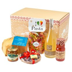 Vegan Italian Christmas Hamper Inc. Panettone, Prosecco & More