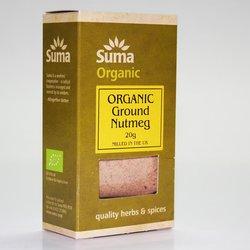 Organic Ground Nutmeg 20g