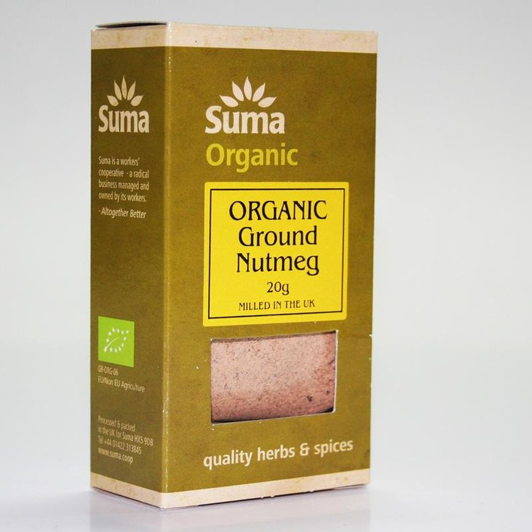 Organic Ground Nutmeg 20g