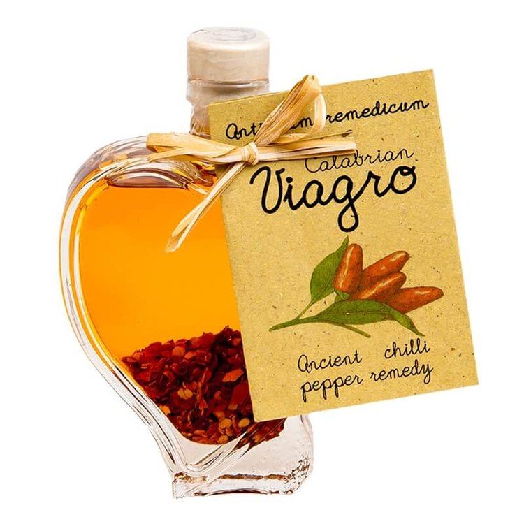"Calabrian Chilli Oil ""Viagro"" (Chilli Pepper Infused Olive Oil) 100ml"