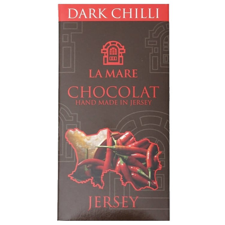 Jersey Dark Chocolate & Chilli Bar 2 x 95g