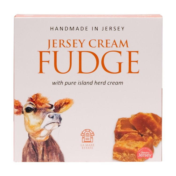2 x Jersey Hand Made Cream Fudge With Local Island Herd Cream 225g