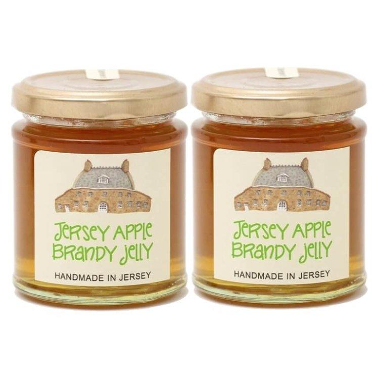 Jersey Apple Brandy Jelly 2 x 227g