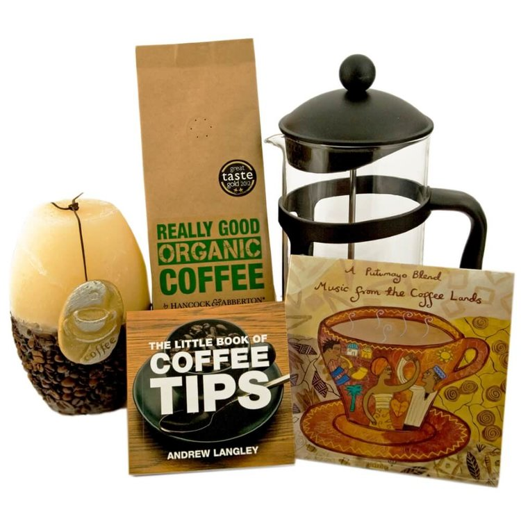 Luxury Coffee Lovers' Gift Bag with Single Origin Organic Coffee