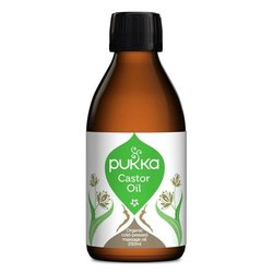 Organic Castor Oil 250ml By Pukka