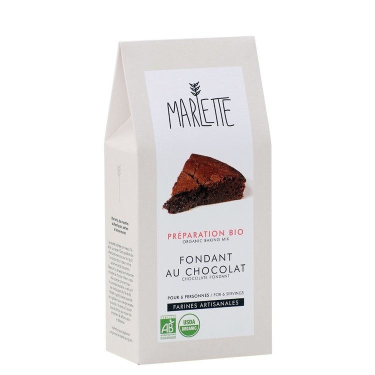 Organic Chocolate Fondant Mix 380g