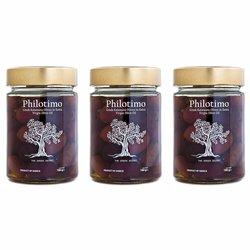 Greek Kalamata Olives in Extra Virgin Olive Oil 3 x 530g