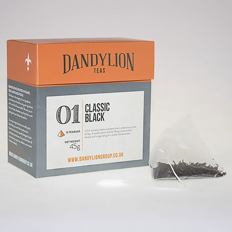 Classic Black Tea (Assam & Dimbula Blend) 15 Tea Bags