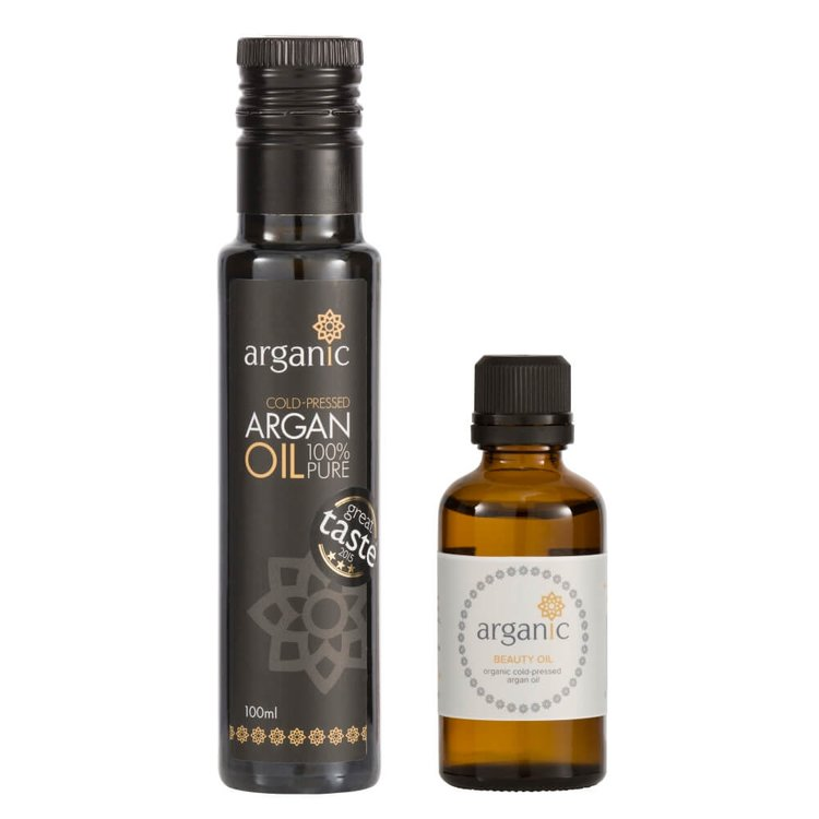 Organic Argan Oil Starter Pack Gift Set