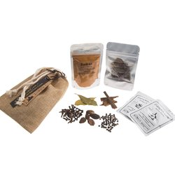 Madras Curry Spice Kit in Drawstring Bag 40g (Vegan Spice Mix)