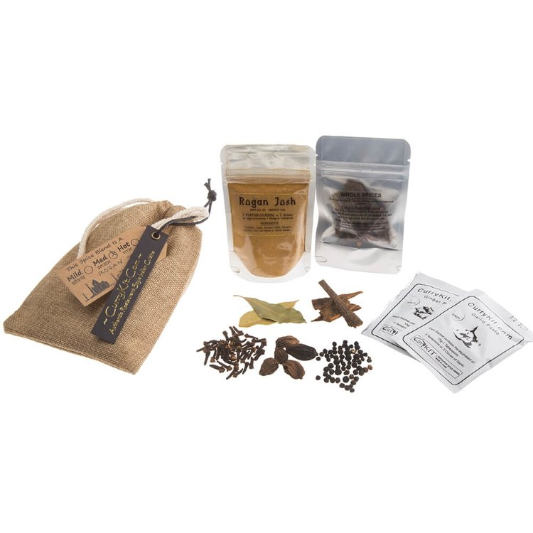 Rogan Josh Curry Spice Kit in Drawstring Bag 40g (Vegan Spice Mix)