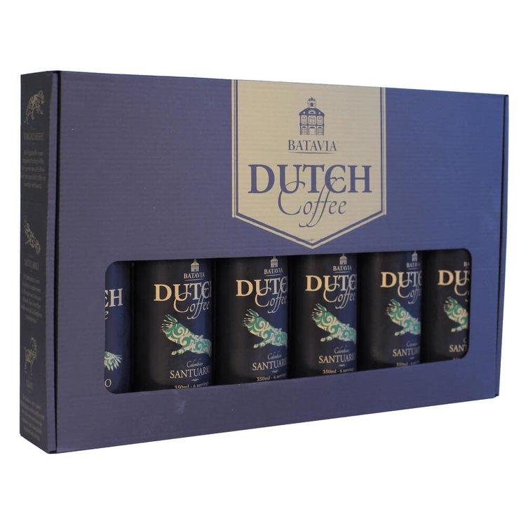 Batavia Cold Drip Dutch Coffee Made From Single Origin Colombian Santuario Beans - Gift Set 6 x 350ml