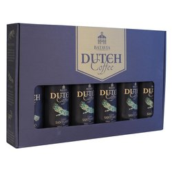 Batavia Cold Drip Dutch Coffee Made From Single Origin Colombian Santuario Beans - Gift Set 6 x 350ml