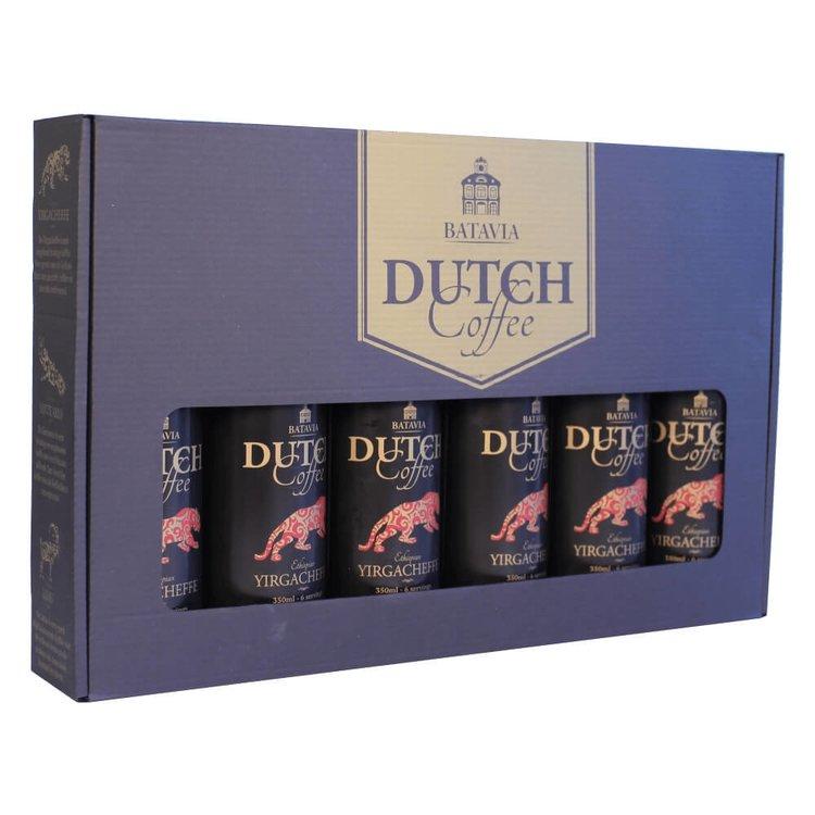 Batavia Cold Drip Dutch Coffee Made From Single Origin Ethiopian Yirgacheffe Beans - Gift Set 6 x 350ml