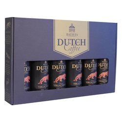 Batavia Cold Drip Dutch Coffee Made From Single Origin Ethiopian Yirgacheffe Beans - Gift Set 6 x 350ml