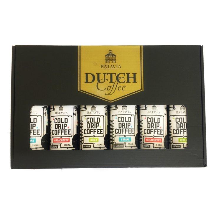 Batavia Cold Drip Dutch Coffee Gift Set (Ethiopian Limu, Colombian Santuario and Ethiopian Yirgacheffe) 6 x 350ml