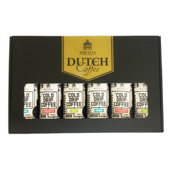 Batavia Cold Drip Dutch Coffee Gift Set (Ethiopian Limu, Colombian Santuario and Ethiopian Yirgacheffe) 6 x 350ml
