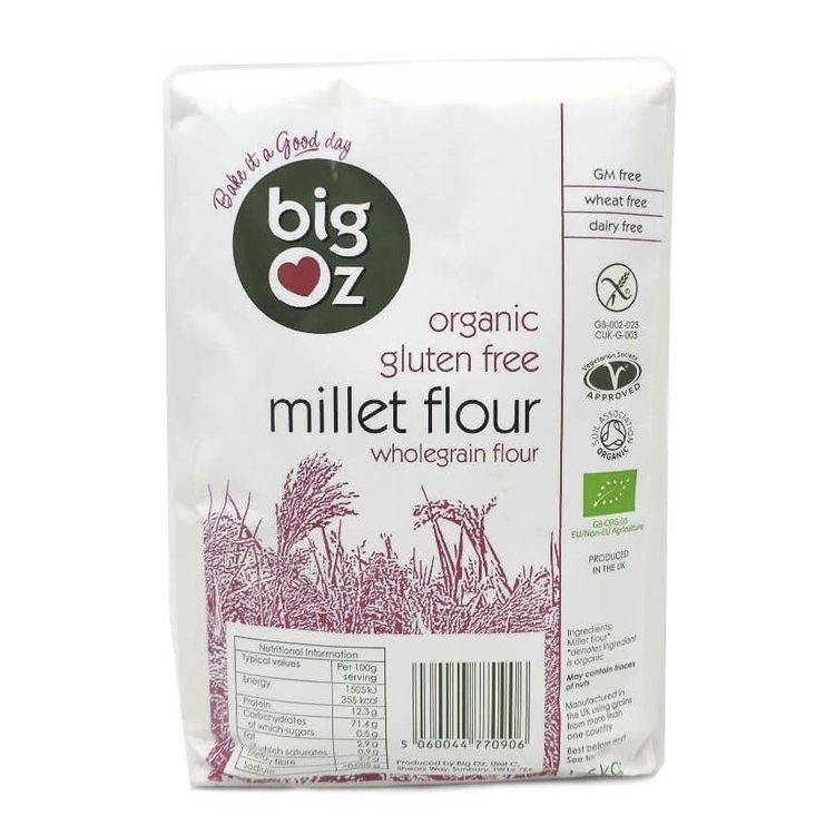 Gluten-Free Organic Millet Flour 1.5kg