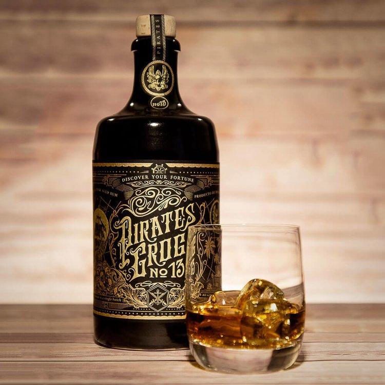 Pirate's Grog 'No.13' Single Batch 13 Year Aged Golden Rum 700ml