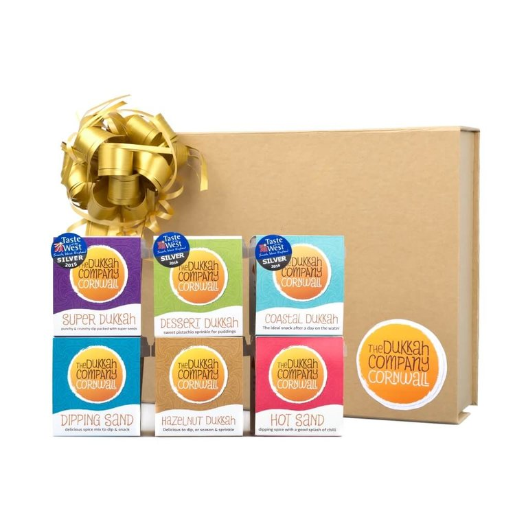Dukkah Dips Gift Box - Crunchy Dips Made From Seeds, Nuts & Spices - 6 x 65g
