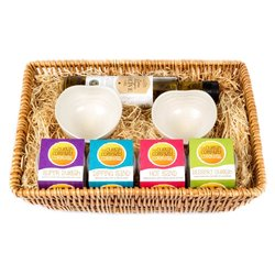 Dukkah Dips Gift Hamper - 4 Dukkah Dips, Extra Virgin Olive Oil and Two Dipping Bowls