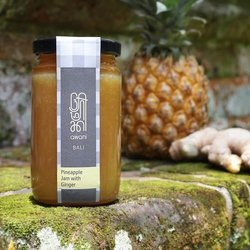 Pineapple Jam with Ginger from Bali