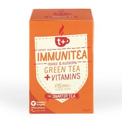 Vitamin-infused Orange & Blueberry 'Immunitea' Green Tea 15 Tea Bags