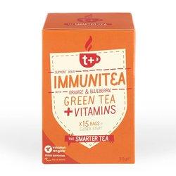 Vitamin-infused Orange & Blueberry 'Immunitea' Green Tea 15 Tea Bags