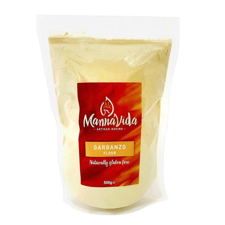 Garbanzo (Chickpea) Flour 500g - Gluten-Free Gram Flour for Falafel, Hummus & Papadums