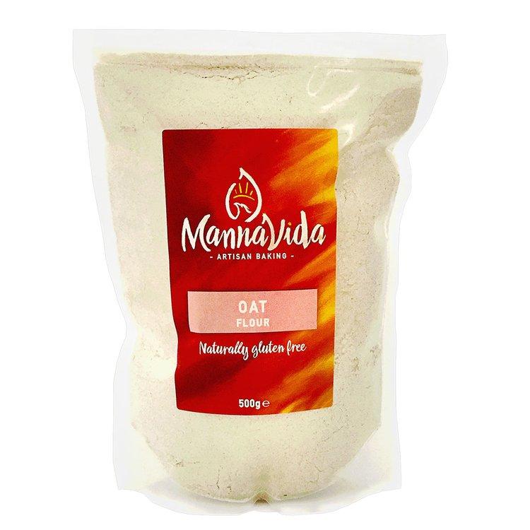 Oat Flour 500g (Gluten-Free Baking Flour)