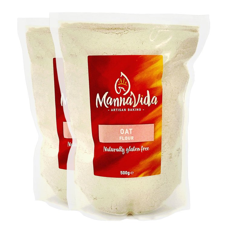 2 x Oat Flour 500g (Gluten-Free Baking Flour)