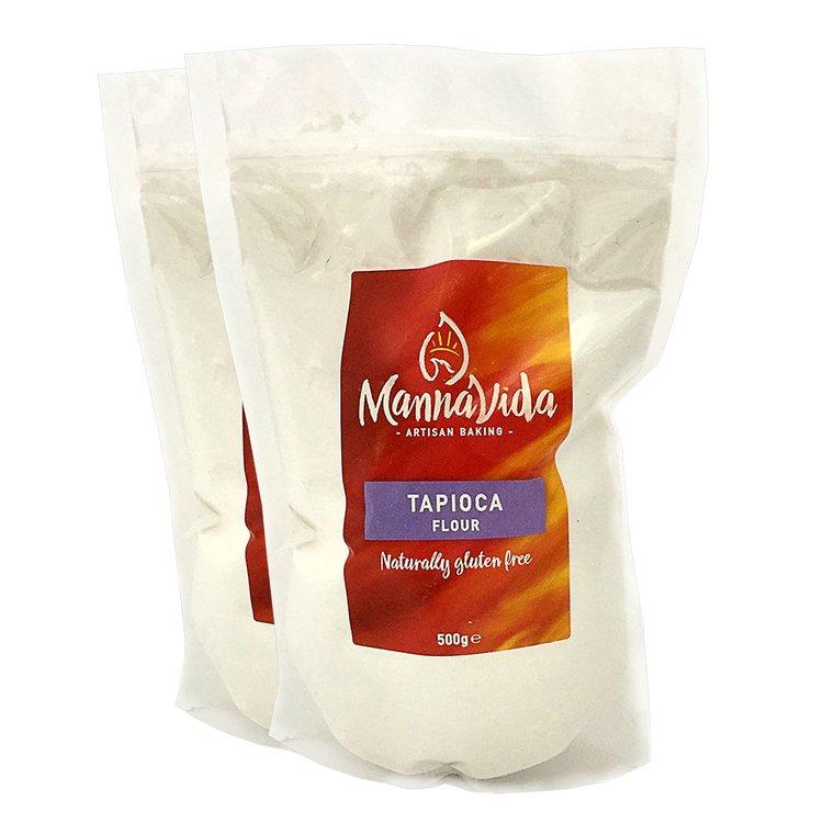 2 x Tapioca Flour 500g (Gluten Free 'Tapioca Starch' for Baking)