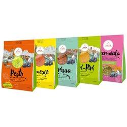 Travel-Inspired Sauces & Marinades Set (Pesto, Romesco, Harissa, Piri-Piri & Chermoula) 5 x 90g