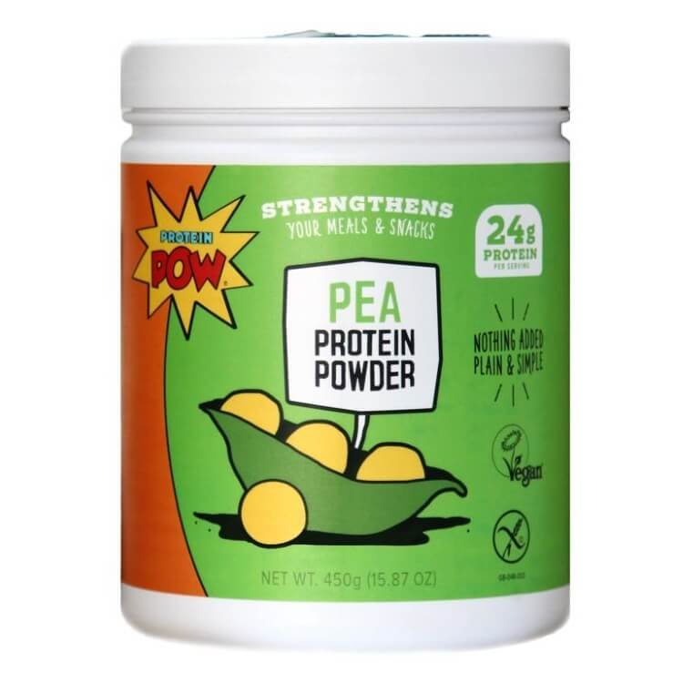 All Natural One Ingredient Pea Protein Powder (With Free Recipe Book) 450g