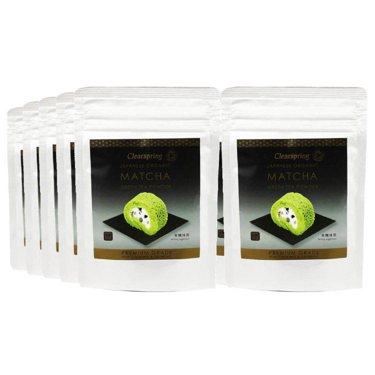 10 x Organic Matcha Green Tea Powder - Premium Grade 40g