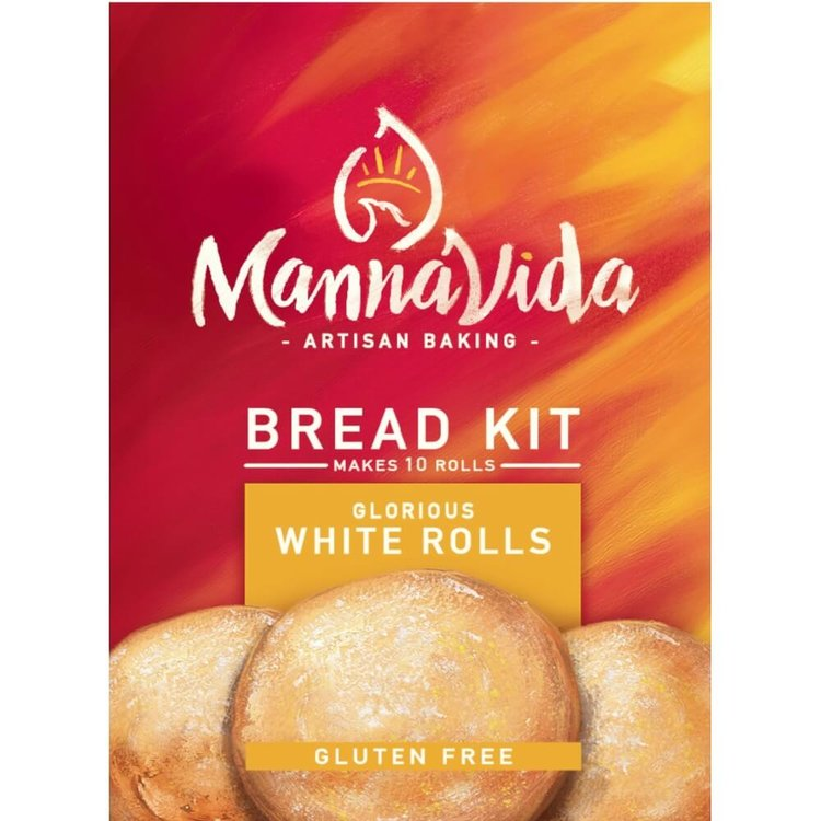 Gluten-Free White Rolls Bread Kit 415g